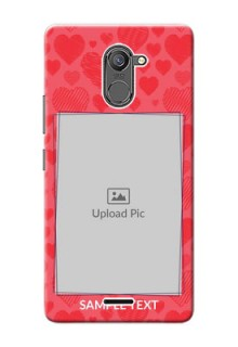 Infinix Hot 4 Pro multiple hearts symbols Design