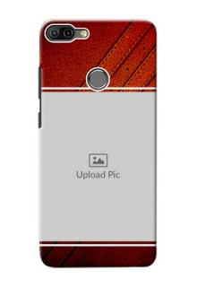 Infinix HOT 6 PRO Back Covers: Leather Phone Case Design