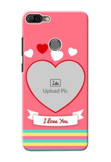 Infinix HOT 6 PRO Personalised mobile covers: Love Doodle Design