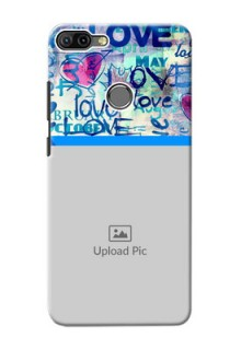Infinix HOT 6 PRO Mobile Covers Online: Colorful Love Design