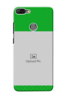 Infinix HOT 6 PRO Personalised mobile covers: Green Pattern Design