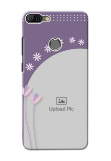 Infinix HOT 6 PRO Phone covers for girls: lavender flowers design