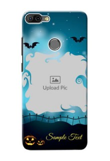 Infinix HOT 6 PRO Personalised Phone Cases: Halloween frame design