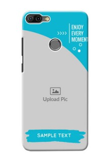 Infinix HOT 6 PRO Personalized Phone Covers: Happy Moment Design