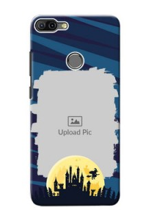 Infinix HOT 6 PRO Back Covers: Halloween Witch Design