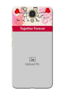 Infinix Note 4 Just You And Me Mobile Back Case Design