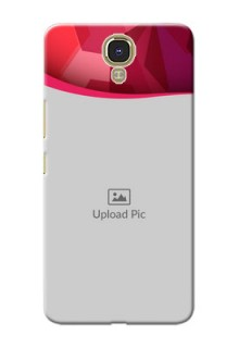 Infinix Note 4 Red Abstract Mobile Case Design
