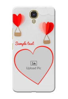 Infinix Note 4 Love Abstract Mobile Case Design