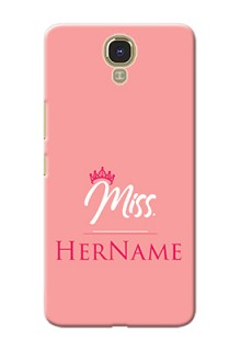 Infinix Note 4 Custom Phone Case Mrs with Name