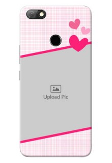 Infinix Note 5 Personalised Phone Cases: Love Shape Heart Design