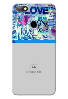 Infinix Note 5 Mobile Covers Online: Colorful Love Design