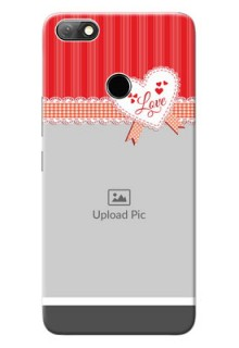 Infinix Note 5 phone cases online: Red Love Pattern Design