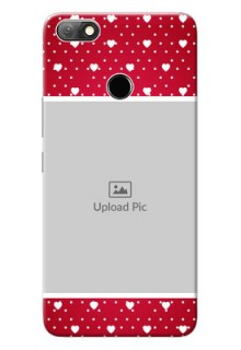 Infinix Note 5 custom back covers: Hearts Mobile Case Design