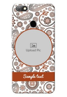 Infinix Note 5 phone cases online: Abstract Floral Design