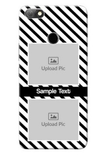 Infinix Note 5 Back Covers: Black And White Stripes Design