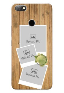 Infinix Note 5 Custom Mobile Phone Covers: Wooden Texture Design