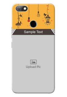 Infinix Note 5 custom back covers with Family Picture and Icons