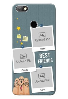 Infinix Note 5 Mobile Cases: Sticky Frames and Friendship Design