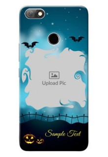 Infinix Note 5 Personalised Phone Cases: Halloween frame design
