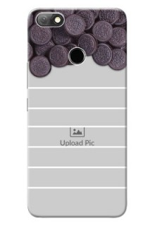 Infinix Note 5 Custom Mobile Covers with Oreo Biscuit Design