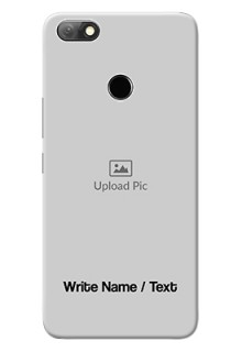 Infinix Note 5 Mobile Cover: Photo with Text