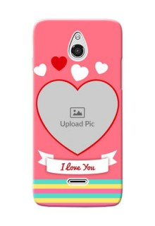 InFocus M2 I Love You Mobile Cover Design