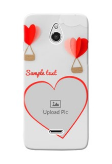 InFocus M2 Love Abstract Mobile Case Design