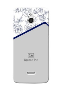 InFocus M2 Floral Design Mobile Cover Design