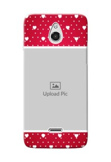 InFocus M2 Beautiful Hearts Mobile Case Design