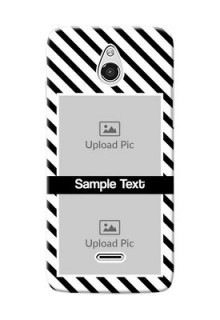 InFocus M2 2 image holder with black and white stripes Design