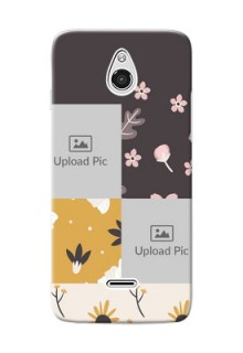 InFocus M2 3 image holder with florals Design