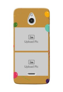 InFocus M2 2 image holder with birthday celebrations Design