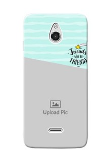 InFocus M2 2 image holder with friends icon Design