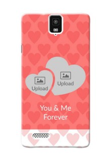InFocusM330 Couples Picture Upload Mobile Cover Design