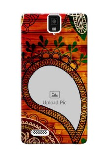 InFocusM330 Colourful Abstract Mobile Cover Design