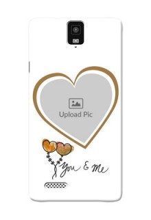 InFocus M330 You And Me Mobile Back Case Design