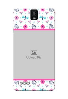 InFocusM330 Colourful Flowers Mobile Cover Design