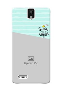 InFocusM330 2 image holder with friends icon Design
