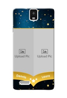InFocusM330 2 image holder with galaxy backdrop and stars  Design