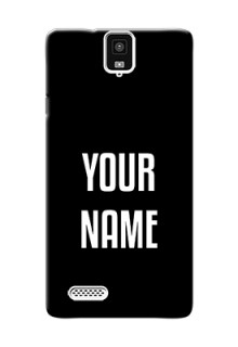 Infocus M330 Your Name on Phone Case