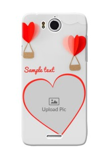 InFocus M530 Love Abstract Mobile Case Design