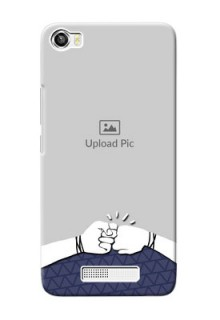 Lava Iris X8 Mobile Covers Online with Best Friends Design