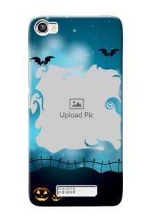 Lava Iris X8 Personalised Phone Cases: Halloween frame design