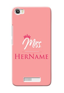 Lava Iris X8 Custom Phone Case Mrs with Name