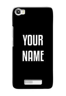 Lava Iris X8 Your Name on Phone Case