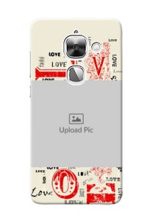 LeEco Le 2 Lovers Picture Upload Mobile Case Design