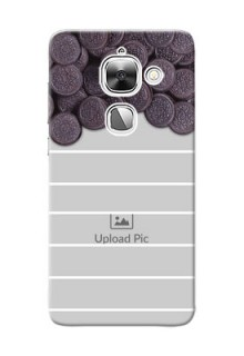 LeEco Le 2 oreo biscuit pattern with white stripes Design Design