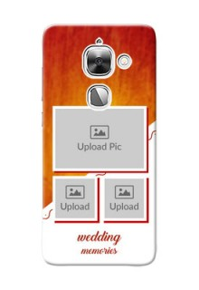 LeEco Le Max 2 Wedding Memories Mobile Cover Design