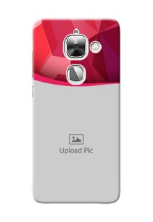 LeEco Le Max 2 Red Abstract Mobile Case Design