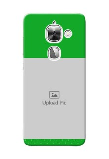 LeEco Le Max 2 Green And Yellow Pattern Mobile Cover Design